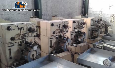 Embalaje máquinas para balas marca EW, MW/Maicon, Maras, Otto Hansel, Tavares, Forgrove, Nagema
