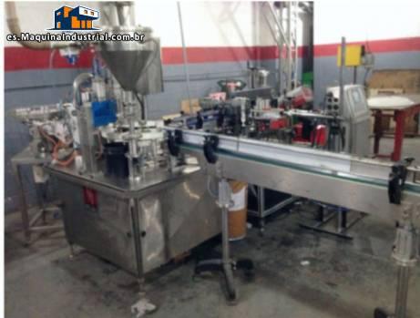 Línea para la fabricación de pegamento y el relleno