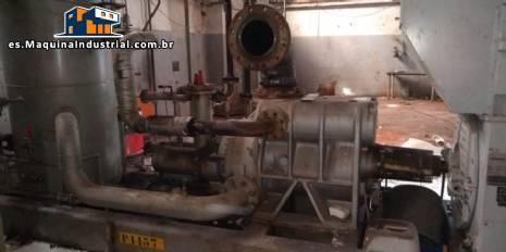 Compresor de tornillo para enfriador Sabroe