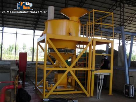 Tanque de almacenamiento y dosificación de polvo