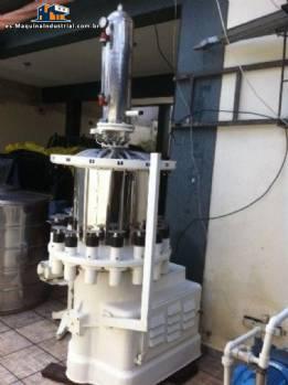 Conjunto de máquinas para la producción de soda
