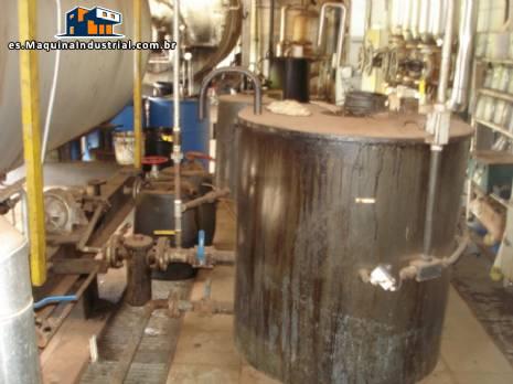 Caldera de vapor/generador de vapor