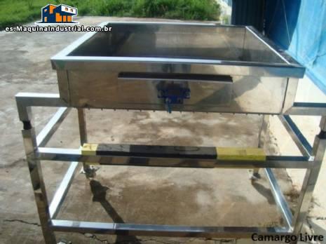 Transportador de elevación de tamiz de acero inoxidable