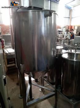 Tanque de acero inoxidable para remover productos