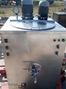Pasteurizadora Inadal 110 litros