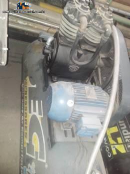 Marca PEG compresor motor de 5 caballos de fuerza 3485 rpm