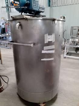 Tanque de acero inoxidable 500 L